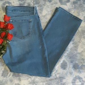 Plus Size NYDJ Marilyn Straight Leg Jeans